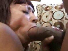 Emi Honada Big Ass Ebony Meets Big Cock Guy