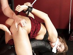 Molly Manson gets pussy banged so rough